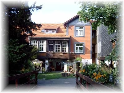 Harz ferienwohnung wernigerode3 mit badewanne for Pension wernigerode